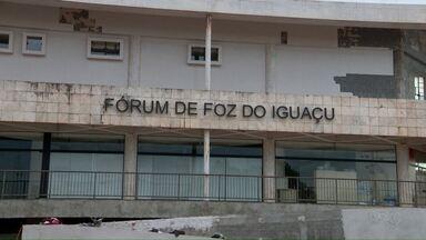 Fórum de Foz do Iguaçu está fechado nesta quarta-feira - Hoje a comarca comemora 99 anos