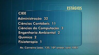 Veja algumas vagas de estágio abertas em Maringá - As vagas são do IEL, do Proe e do CIEE.
