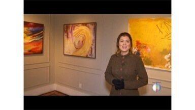 Exposição é aberta no Espaço Cultural da Inter TV, em Petrópolis, nesta quarta-feira - Visitação é gratuita.