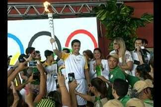 Lyoto Machida dá início ao Tour da Tocha Olímpica - Lyoto Machida dá início ao Tour da Tocha Olímpica