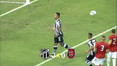 Brasil-Pel perde para o Ceará no Castelão - Xavante perdeu de 3 a 0.