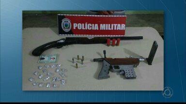 Adolescentes são apreendidos na Paraíba com armas - A apreensão foi na cidade de Sapé.