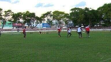 Com despedida, Sergipe treina no Estádio João Hora - Com despedida, Sergipe treina no Estádio João Hora