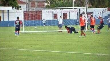 """No Fortaleza, para jogar precisar """"ralar"""" muito - Briga por titularidade é intensa no Pici."""