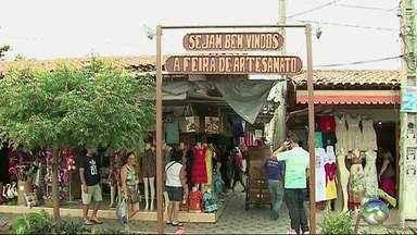 Polícia fala sobre a falta de segurança na Feira de Artesanato - Uma comerciante do local foi assaltada quatro vezes.