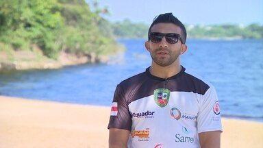 Amazonense conquista 5º lugar no Mundial de Beach Wrestling - Tasso Alves competiu no torneio disputado na Croácia. Sonho do atleta é chegar à Olimpíada de Tóquio 2020.