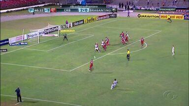 CRB vence disputa contra o Bragantino por 2x1 - O time alagoano está a um ponto do G4.