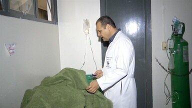 Índios feridos em confronto com produtores se recuperam no hospital em Dourados - Índios feridos em confronto com produtores se recuperam no hospital em Dourados