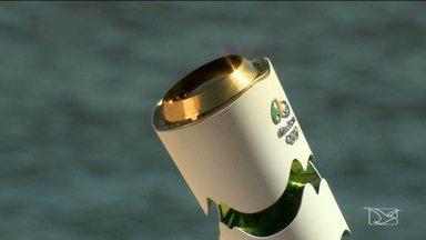 Chama olímpica vai embora do Maranhão e já deixa saudades - Chama olímpica vai embora do Maranhão e já deixa saudades
