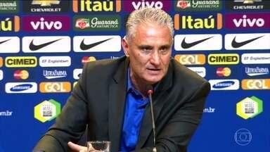 Técnico Tite assume oficialmente o comando da Seleção Brasileira de Futebol - O treinador foi apresentado nesta segunda-feira (20) na sede da CBF. Seu desafio é classificar o Brasil para a Copa do Mundo de 2018, na Rússia.