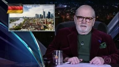 """Jô abre programa de segunda-feira comentando as notícias da """"boato press"""" - Gabi Milino e Ricardo Amaral são os convidados da noite"""