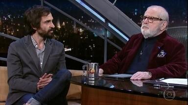 Jô Soares entrevista Júlio Andrade - O ator é um dos apresentadores do 27º Prêmio da Música Brasileira