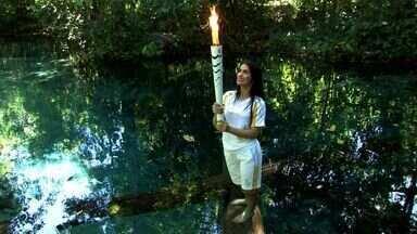 Tocha em MT: Nobres recebe o fogo olímpico - Tocha em MT: Nobres recebe o fogo olímpico