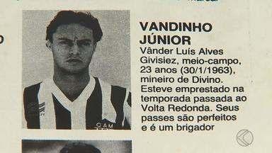 Ex-Galo e Flu, Vander Luiz fala da possibilidade de se tornar treinador - Ex-camisa 10 mora há cinco anos em Juiz de Fora e ainda relembra grandes jogos disputados nos anos 80