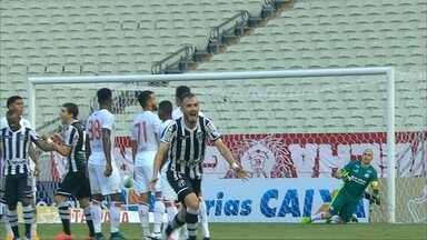Náutico é derrotado por 2x1 pelo Ceará em Fortaleza - Timbu não conseguiu segurar ímpeto dos donos da casa e caiu na tabela