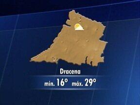 Domingo será de sol entre nuvens na região - Saiba como ficam as temperaturas.