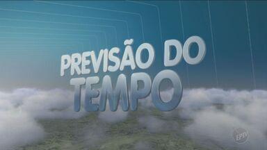 Previsão é de mínima de 13º e máxima de 28º no domingo (26) em Campinas - O tempo continua firme e não há previsão de chuva neste domingo (26) nas cidades da região de Campinas.