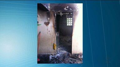 Bandidos invadem e incendeiam escola em Juazeirinho - Caso está sendo investigado, mas suspeitos ainda não foram identificados