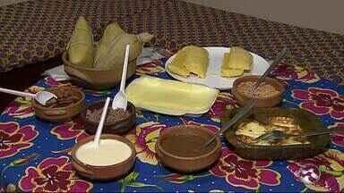 Empresária investe em sanduíche de pamonha em Caruaru - Acompanhamento podem ser doces ou salgados.