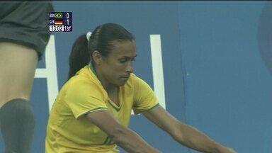Pequim 2008 - semifinal do futebol feminino