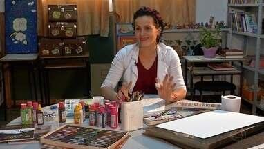 Arte e Educação: Conheça a professora Angela Fakir, uma artista plástica apaixonada - Arte e Educação: Conheça a professora Angela Fakir, uma artista plástica apaixonada