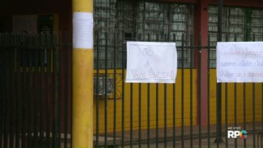 Colégio de Foz sofre atentado e direção cancela aulas - Patrulha Escolar, Núcleo de Educação e professores se reuniram hoje pela manhã