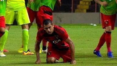Diego Souza se destaca com a camisa do Sport - Diego Souza se destaca com a camisa do Sport