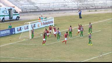 Campinense vence a primeira na Série D e segue com chances de classificação - Após início ruim, Raposa se recupera com vitória em casa em cima do Fluminense de Feira.