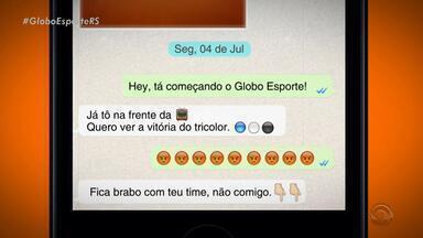 Confira a íntegra do Globo Esporte RS desta segunda (4) - Programa destaca vitória do Grêmio no clássico Gre-Nal 410, por 1 a 0, no Beira-Rio.