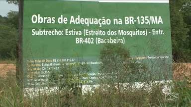 Acidente que causou oito mortes reacende discussão sobre perigos da Br-135 - Acidente que causou oito mortes reacende discussão sobre perigos da Br-135