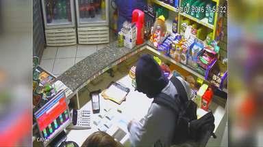 Em menos de 12 horas três assaltos foram registrados no fim de semana em Cascavel - Um empresário foi morto por assaltantes.