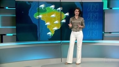 Frente fria se aproxima do Sul do país - Nesta terça-feira (5) há previsão de chuva forte no Rio Grande do Sul.
