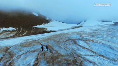A Primeira Escalada No Gelo