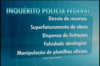 Prefeito de Divinópolis diz que não sabia de fraudes citadas pela Polícia Federal - Vladimir Azevedo afirma não ter sido alertado sofre fraudes antes de obras. PF afirma que prefeito continuou 'esquema' da administração anterior.