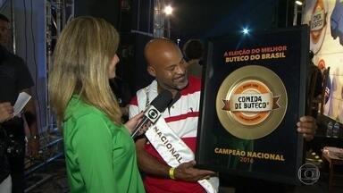 Bar do RJ é campeão nacional do Comida di Buteco - O Bar do David, do Rio, levou o prêmio Comida de Buteco.