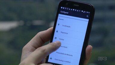 Veja dicas para proteger os dados do seu celular em caso de roubo - Roubos de celulares em Maringá estão cada vez mais comuns.