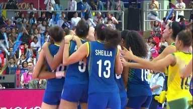 Seleção brasileira feminina de vôlei estreia com vitória no Grand Prix - Seleção brasileira feminina de vôlei estreia com vitória no Grand Prix