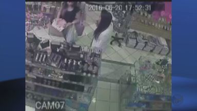 Jovem é presa em Poços de Caldas (MG) após roubar maquiagem para vender na internet - Jovem é presa em Poços de Caldas (MG) após roubar maquiagem para vender na internet