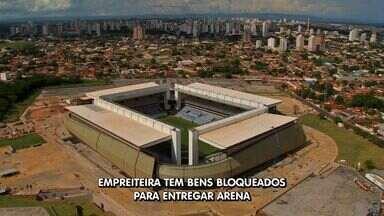 Justiça bloqueia bens de empreteira e manda terminar arena pantanal - Justiça bloqueia bens de empreteira e manda terminar arena pantanal