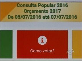 Votação da Consulta Popular começa hoje no RS - Coordenador Regional da Consulta comenta demandas e prioridades da votação
