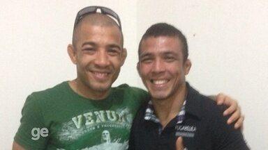 De autógrafos a namoros: como sósia e xará de José Aldo explora fama do lutador - Lutador amazonense, José Marcos, é marcado por diversas semelhanças com ex-campeão dos penas do UFC. Sonho é seguir mesmo caminho na carreira.