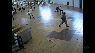 Polícia busca homem que efetuou disparos no metrô do Recife - Câmeras vão ajudar a identificar suspeito do crime.