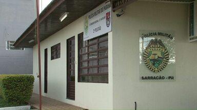 Polícia de Barracão prende motorista que mentiu sobre assalto - Imagens de câmeras de segurança comprovaram que ele forjou a história.