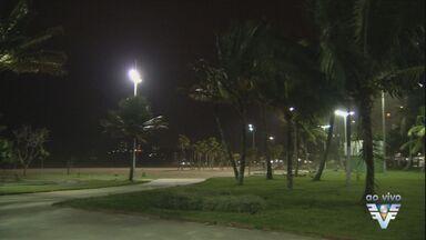 Termômetros passam dos 30°C em pleno inverno na Baixada Santista - Sol brilhou forte durante a tarde desta quarta-feira.