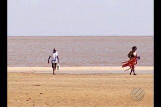 Praias dos distritos de Outeiro e Icoaraci são reprovadas em teste de balneabilidade - Teste é realizado pela Secretaria Municipal de Meio Ambiente e significa que a água está poluída e imprópria para banho, sob risco de contrair doenças como a diarreia além de problemas de pele.