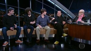 Jô Soares entrevista a banda Mar Aberto - Grupo lança um disco com canções de Dori Caymmi
