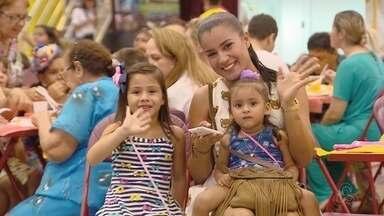 Arraial da Rede Amazônica tem início no Studio 5, em Manaus - Comidas típicas e apresentação de grupos folclóricos fazem parte da programação.
