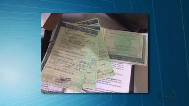 Três são presos por fraude em documentos do Detran-MT - Três são presos por fraude em documentos do Detran-MT