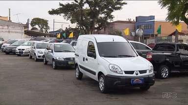 Aumenta a venda de carros usados, em Curitiba - O primeiro semestre teve aumento de 25% nas vendas