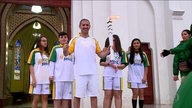 Tocha olímpica se despede do RS - Faltando 27 dias para o início da olimpíada do Rio, o símbolo chave dos jogos olímpicos se despediu do Rio Grande do Sul e seguiu para Santa Catarina.